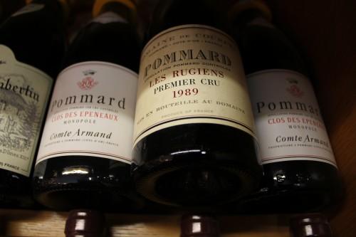 bourgogne-pommard-comte armand, courcel