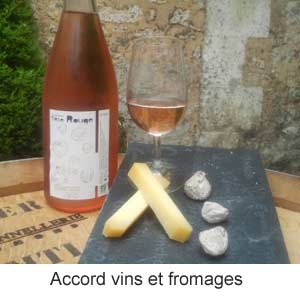Accord vins et fromages