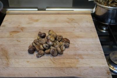 écrasé de pomme de terre aux chanterellles 14