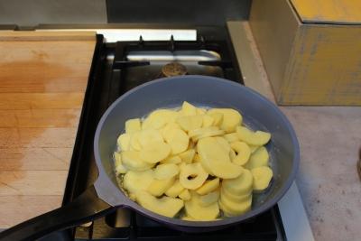 écrasé de pomme de terre aux chanterellles 7