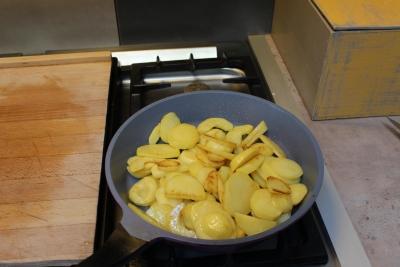 écrasé de pomme de terre aux chanterellles 8
