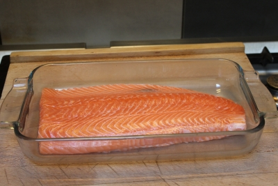saumon mariné à l'aneth 1