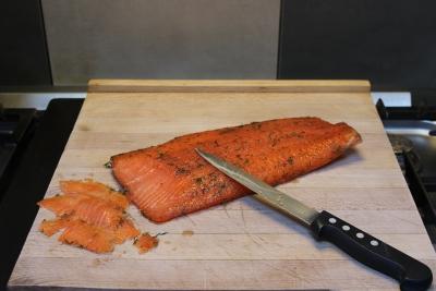 saumon mariné à l'aneth 10