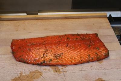 saumon mariné à l'aneth 9